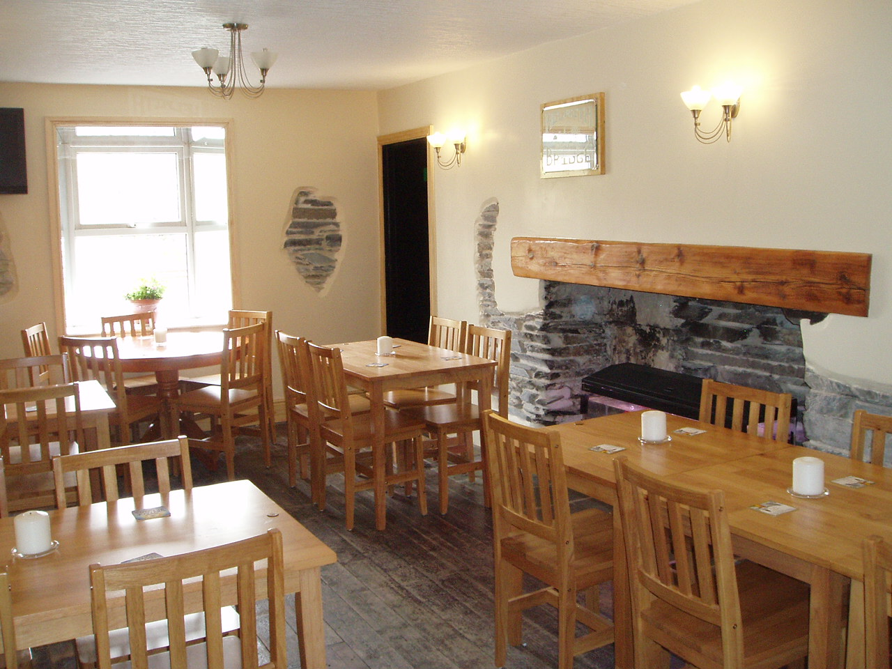 Helwith Bridge Inn Dining Room